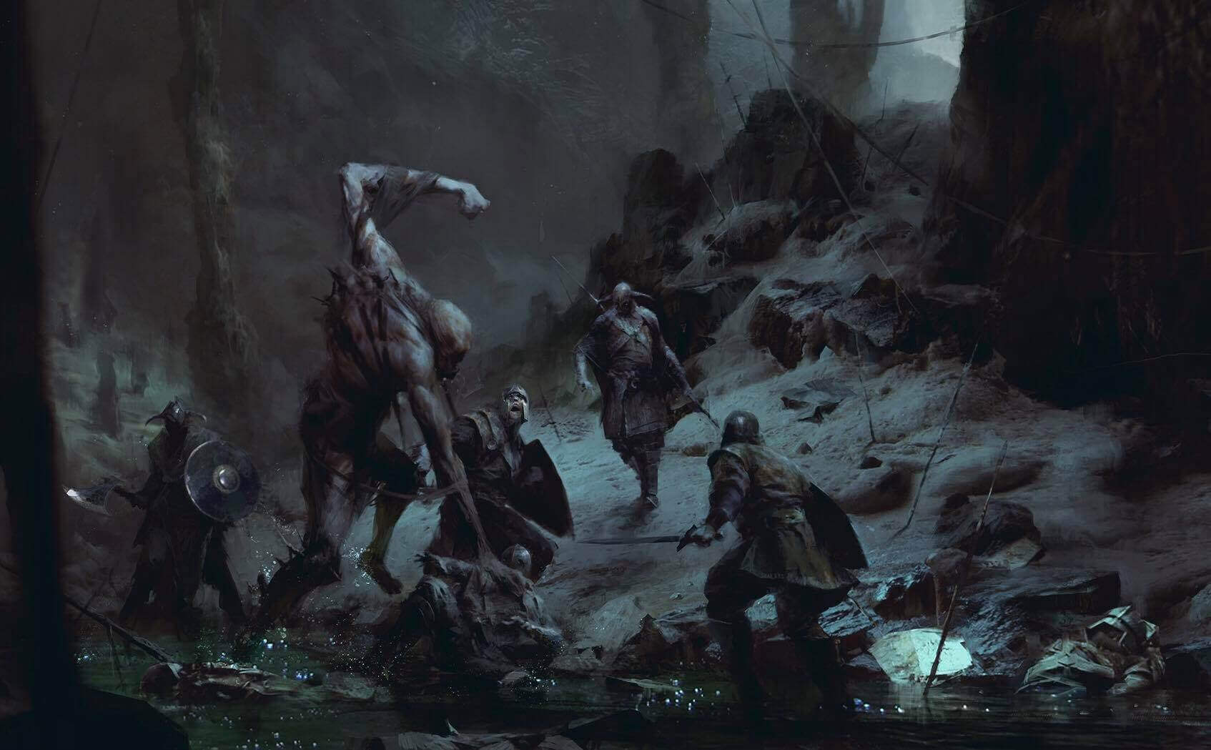 the outsiders 1 1 - Battlefield Series Writer David Goldfarb Working On New Viking Horror Game