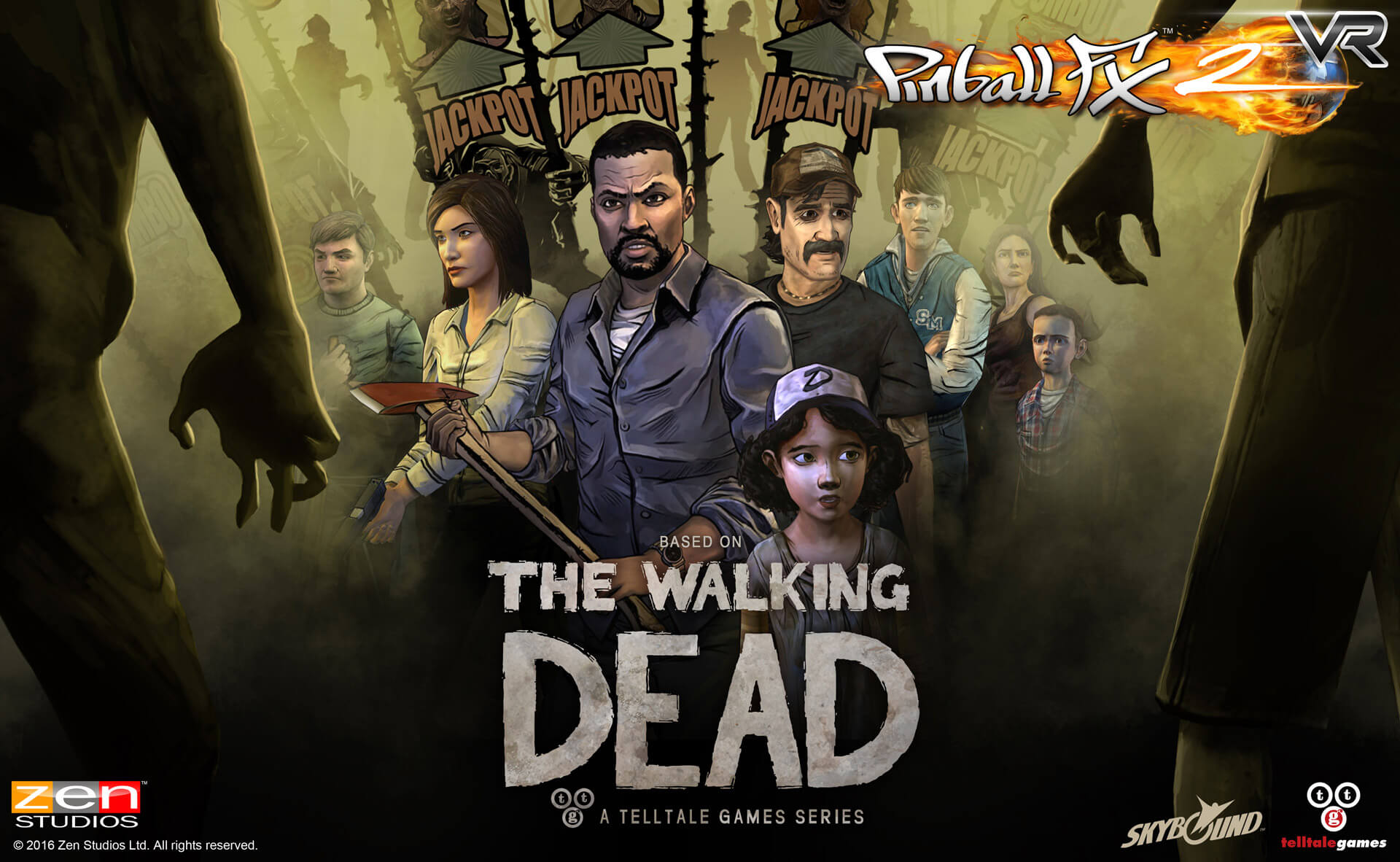 The Walking Dead Pinball Is A Real Thing Dread Central