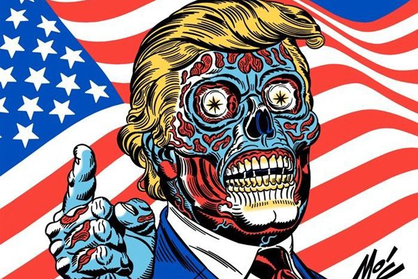 trump for president final s - What President Trump Could Mean for the Future of Horror