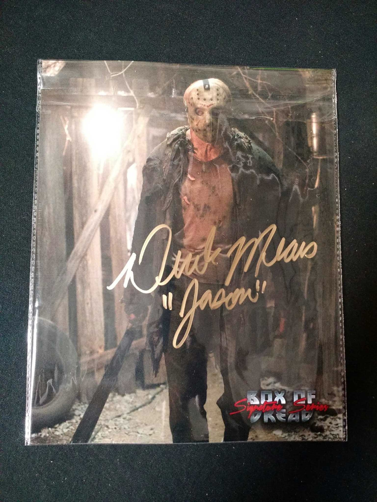 Jason Voorhees Christmas Box of Dread Seventh Box