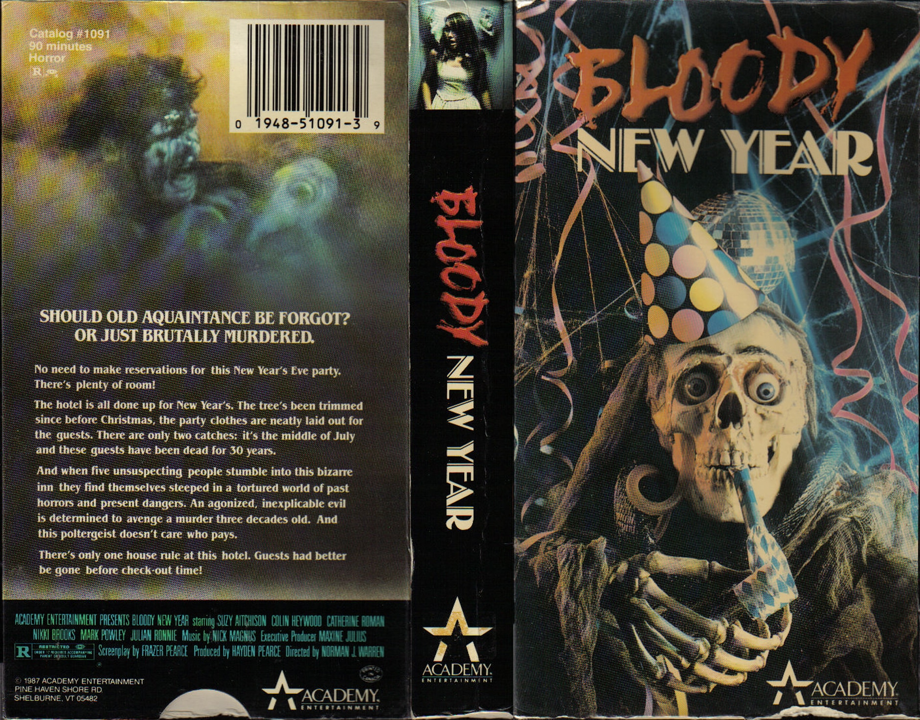 BLOODY NEW YEAR - 5 Films to Satisfy Your New Year's Eve Horror Needs