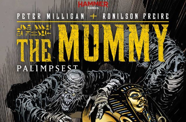Mummy5 Cover Tom Mandrake s - Titan's Nightmare Before Christmas: Day 4 - Tom Mandrake's Process for Creating The Mummy #5 Cover