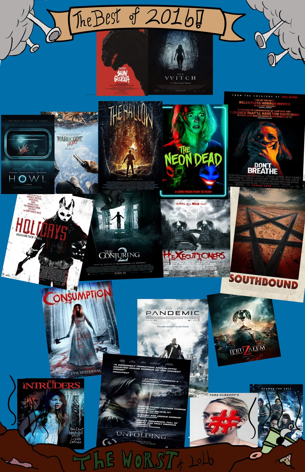 bestworst16 - Dread Central's Best and Worst Horror Films of 2016