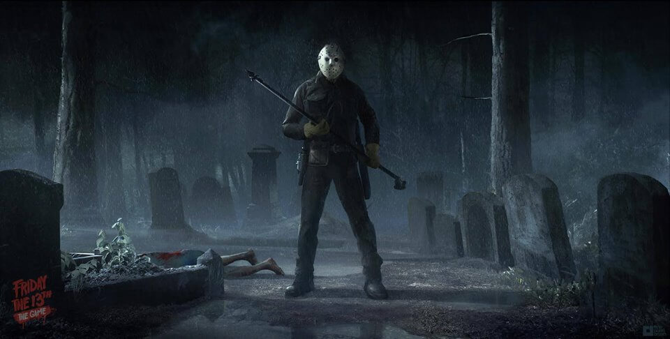 friday the 13th game jason harpoon 1 - Friday the 13th: The Game - Single Player Preview
