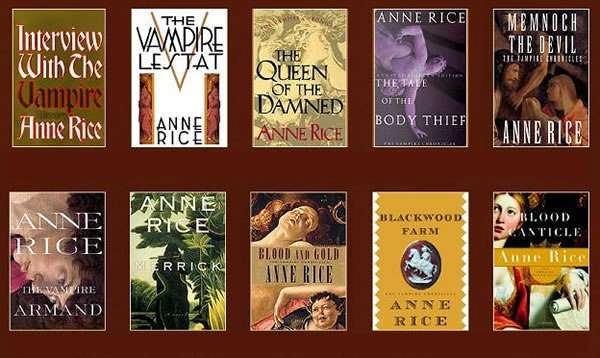 Anne Rice 12 Book Collection