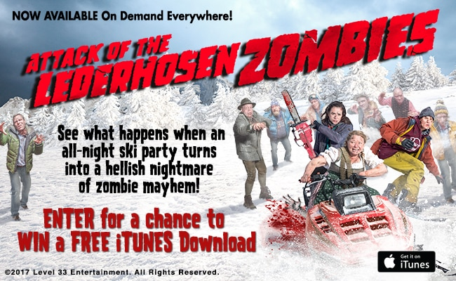 Win a FREE Download of Attack of the Lederhosen Zombies