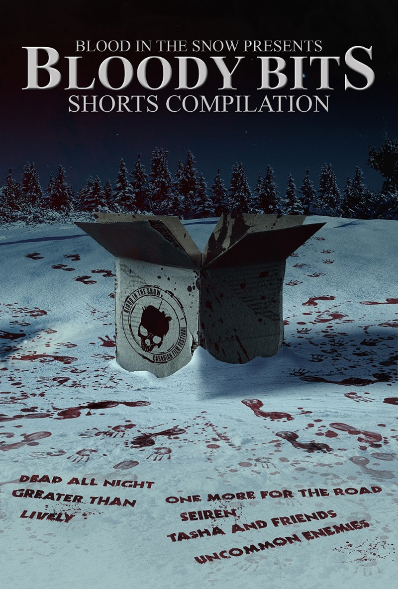 Bloody Bits Key Art - Shorts Compilation Bloody Bits Available Now; New Trailer Released