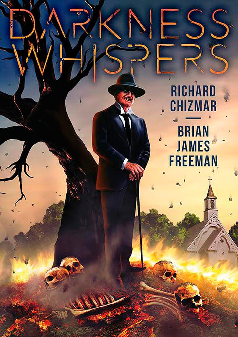 Darkness Whispers Cover - Darkness Whispers on eBook after Limited Edition Hardcover Sells Out