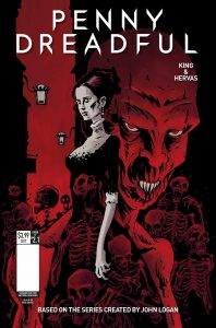 PENNY DREADFUL 1 COVER D ROB DAVIS 198x300 - New Interior Art Revealed from Penny Dreadful: The Awaking Issue #1