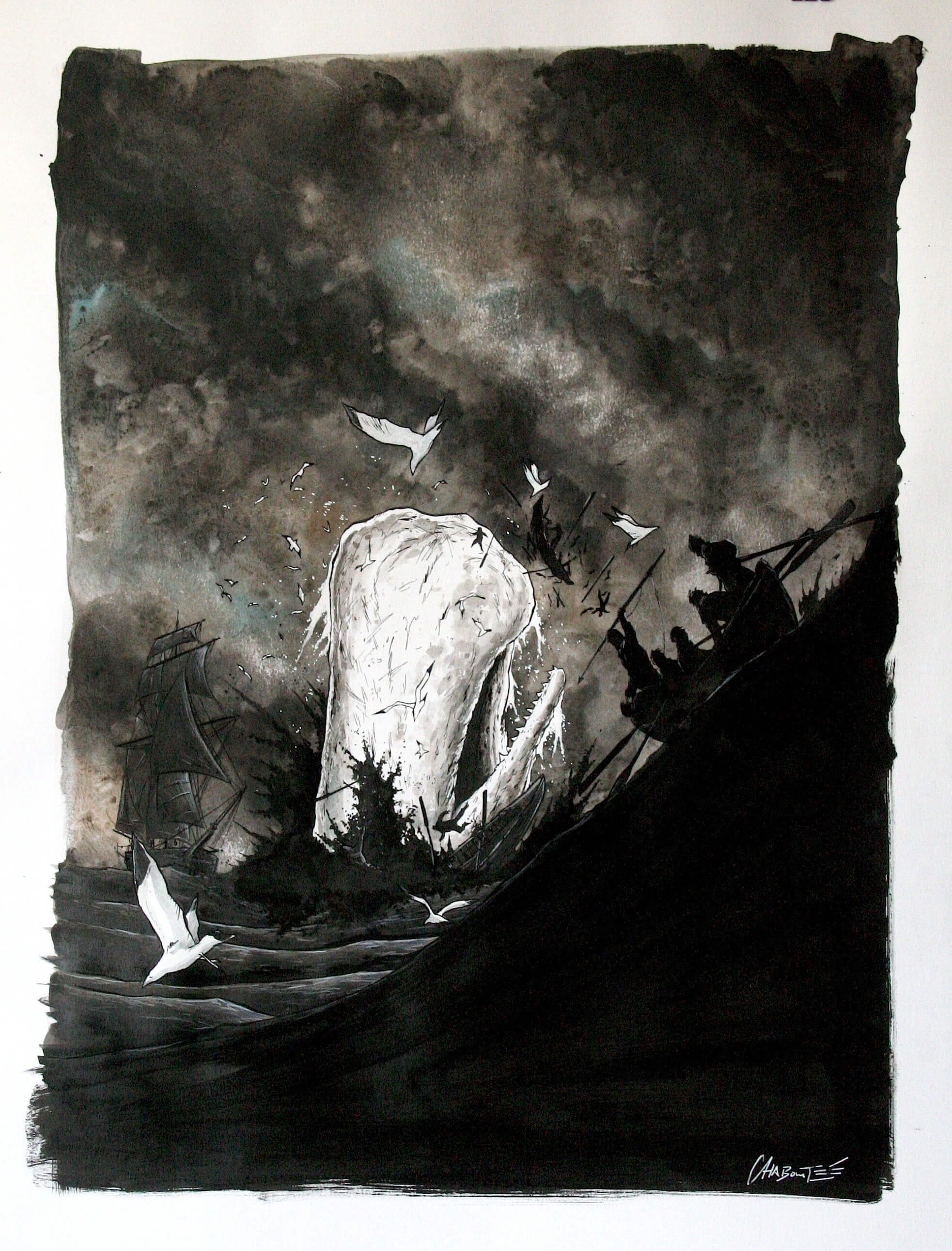 moby dick dark horse2 1 - Moby Dick Swimming into Comic Stores Next Month