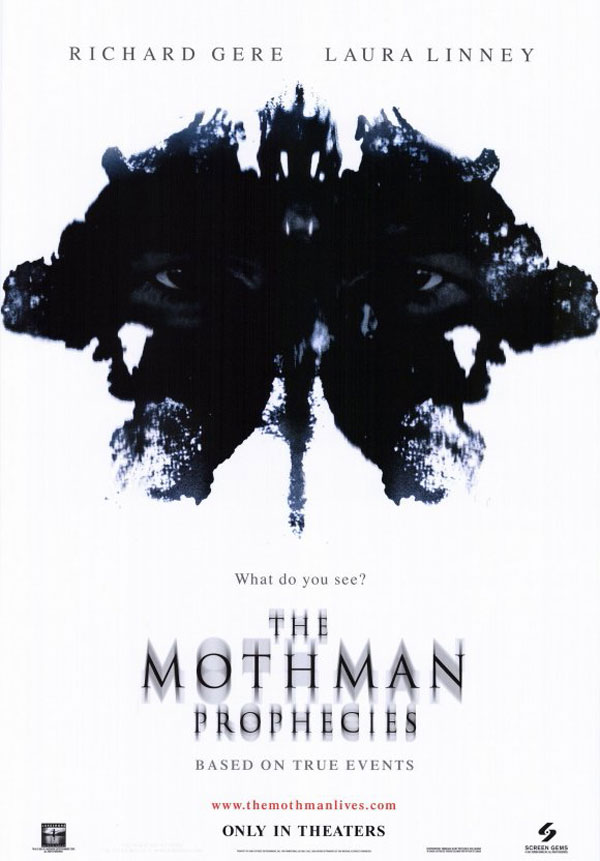 mothman prophecies - Guest Post: A Look Back at The Mothman Prophecies by Tom Deady