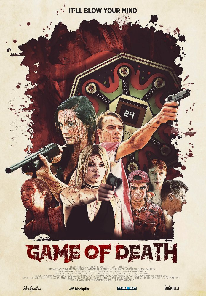 Game of Death Poster - Eye Candy for SXSW Midnighter Game of Death Bodes Buckets of Blood