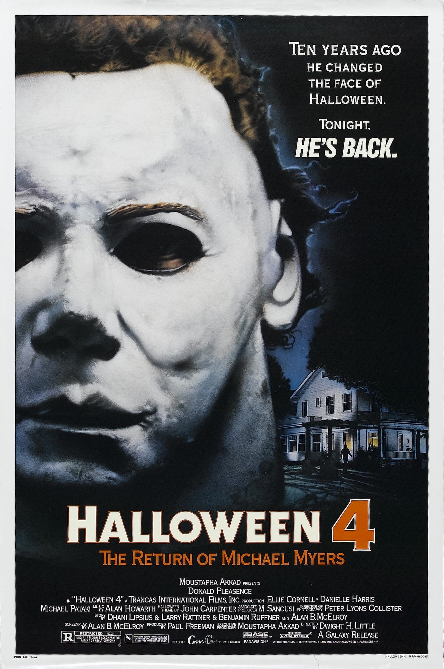 Halloween 4 - Halloween 4: The Return of Michael Myers Is an Undervalued Sequel