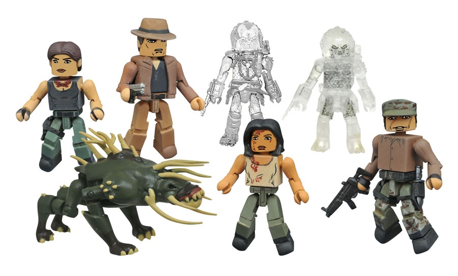 PredatorMMpacks - Toy Fair 2017: Diamond Select Unveils New Figures from The Dark Tower, Ghostbusters, Predator, and More!