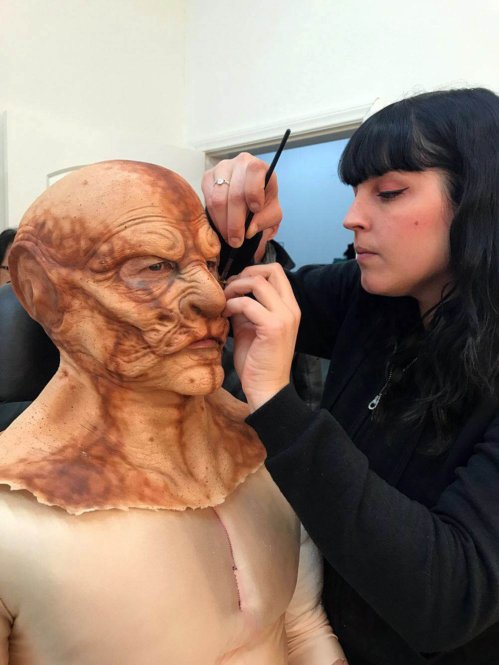 Rottentail Makeup 1 - First Images From Comic Adaptation Rottentail Show One Very Hungry Bunny