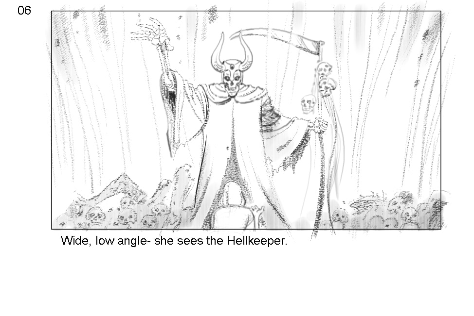 Scene 59 06 - New Storyboards Introduce Us to Baphomet's Hellkeeper