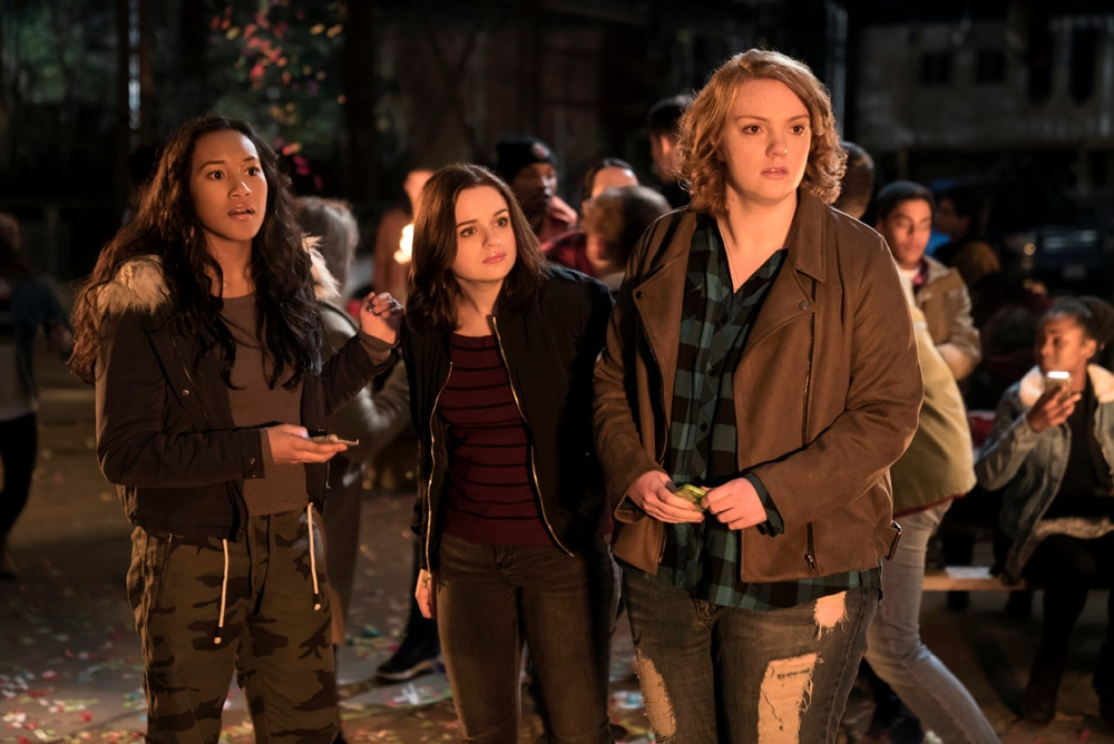 WU 06485 R03 - Wish Upon Set Visit Report - Hear from Stars Joey King, Shannon Purser, and Sydney Park and Director John R. Leonetti