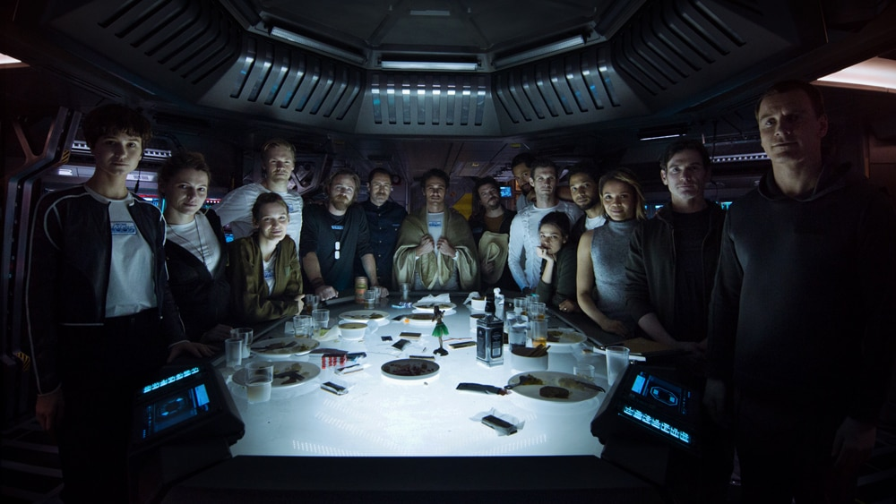 alien covenant cast - SXSW 2017: Ridley Scott, Katherine Waterston, and Danny McBride Talk Alien: Covenant