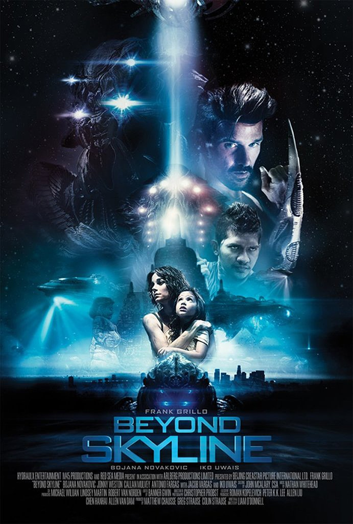 beyond Skyline poster - Beyond Skyline Gets a Super-Average Poster