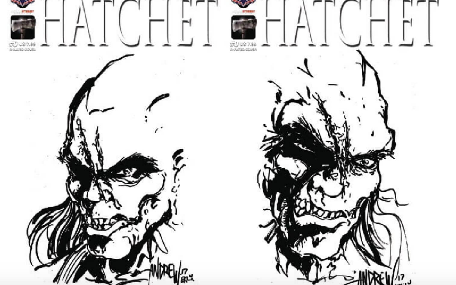 hatchet issue 0 1 - Victor Crowley Flashes His Good Looks in Hatchet #0 Covers