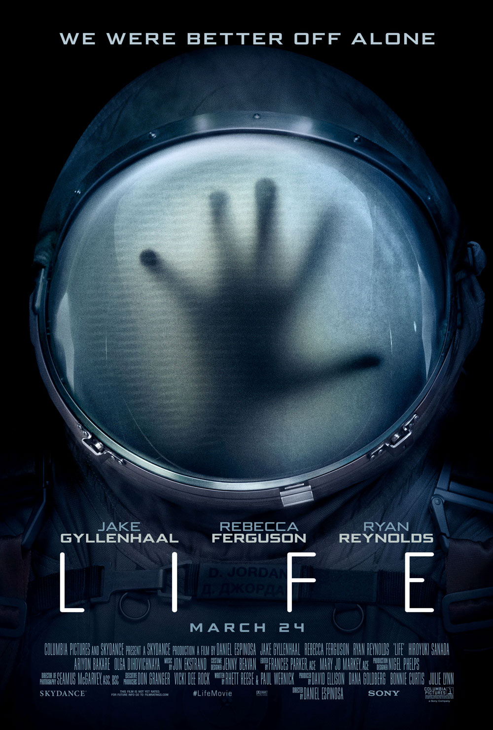 life newposter - New International Trailer for Life Reminds Us We Were Better Off Alone