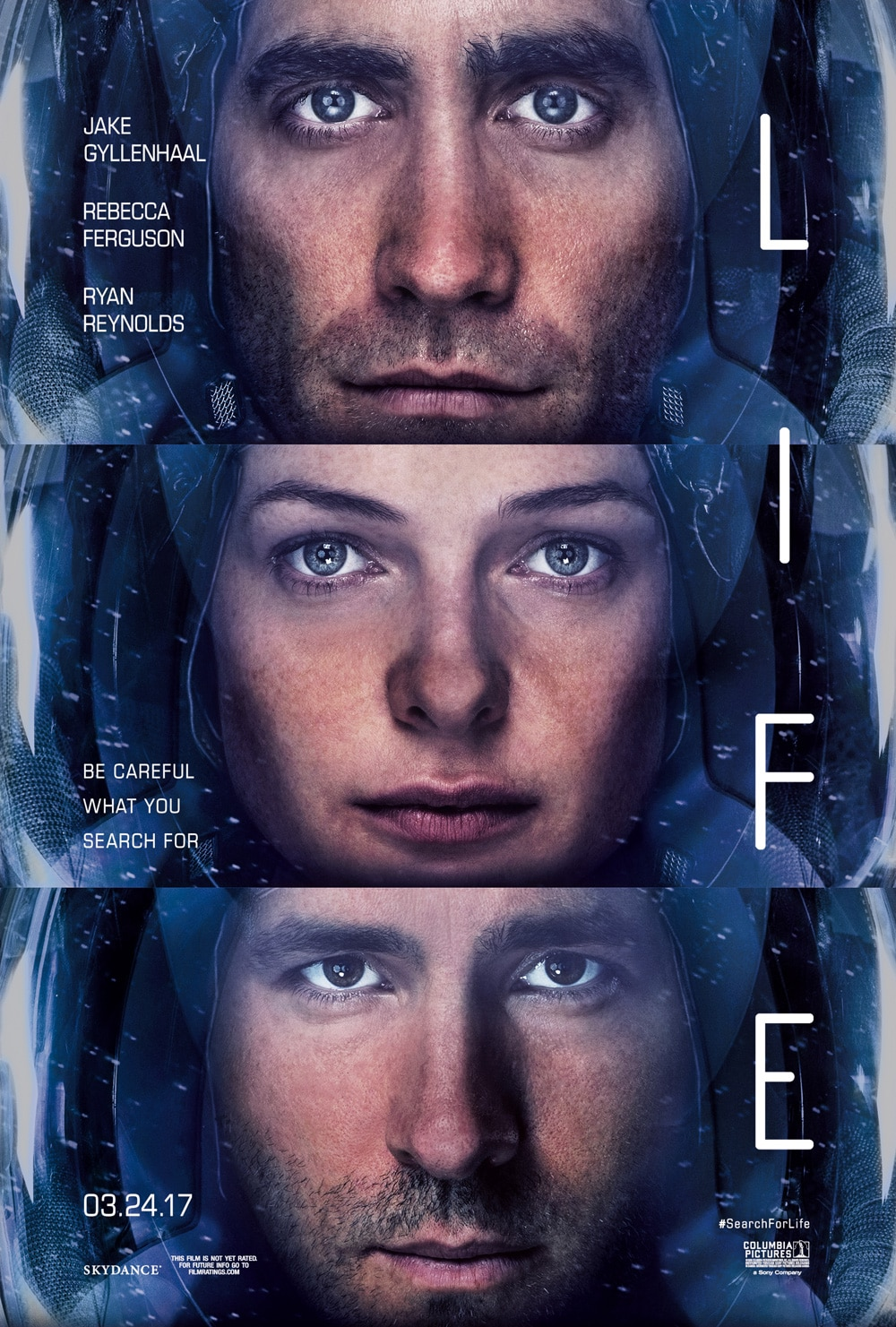 life poster - New International Trailer for Life Reminds Us We Were Better Off Alone