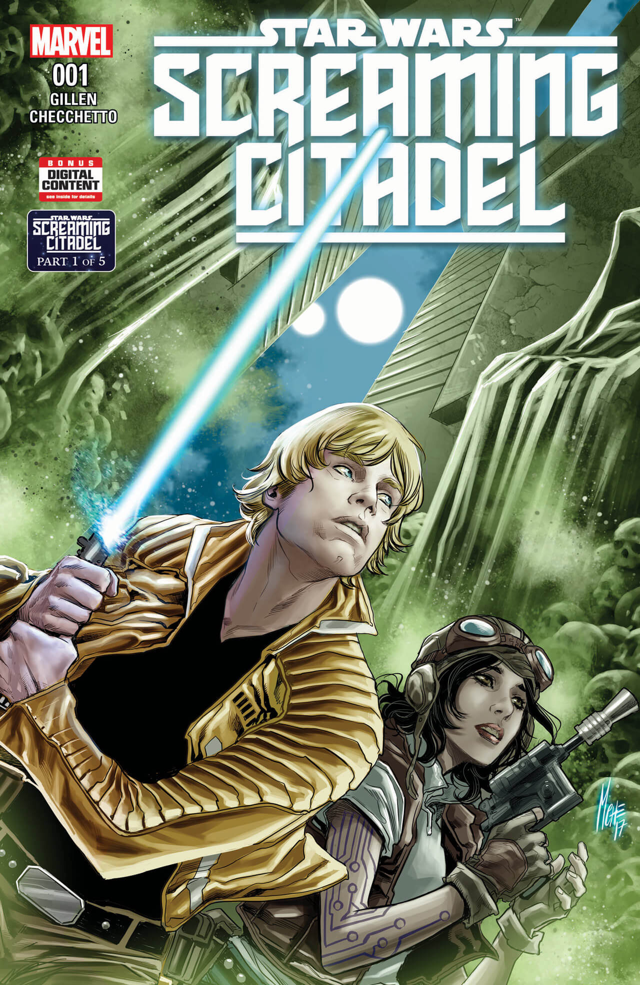 star wars screaming citadel 1 1 - Star Wars: The Screaming Citadel Horror Comic Coming This Year