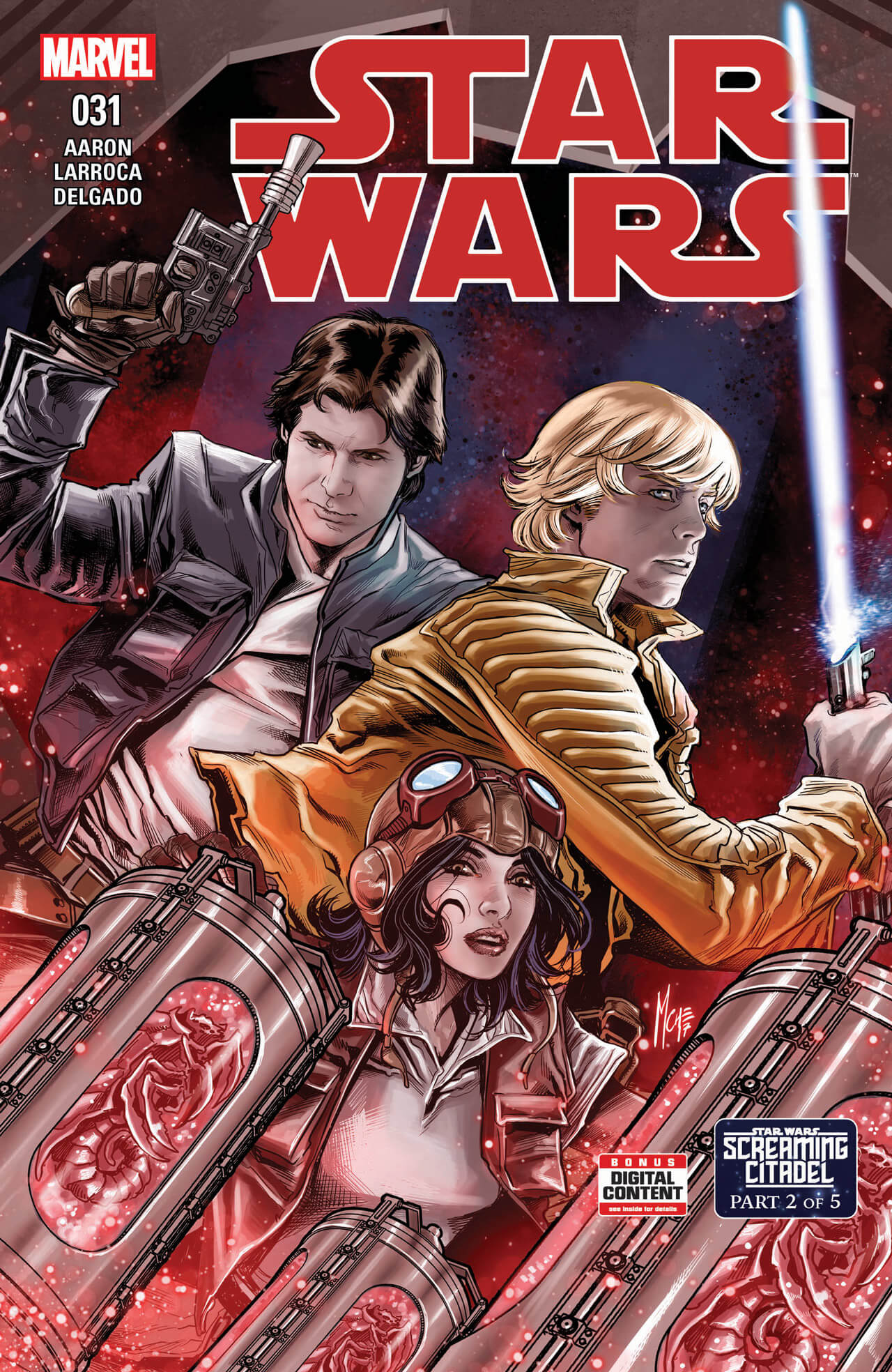 star wars screaming citadel3 1 - Star Wars: The Screaming Citadel Horror Comic Coming This Year