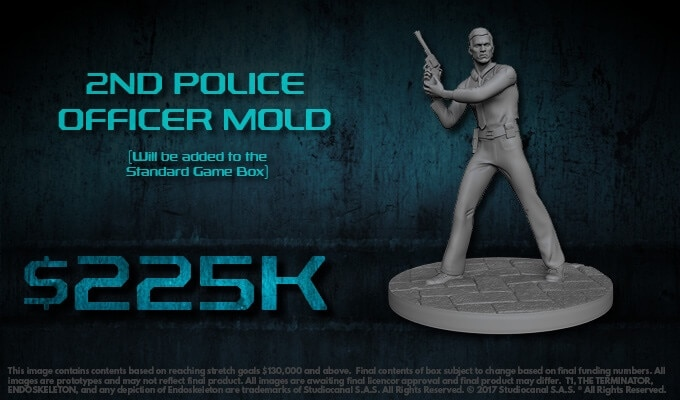 the terminator board game miniatures6 1 - The Terminator: The Official Board Game Kills it on Kickstarter