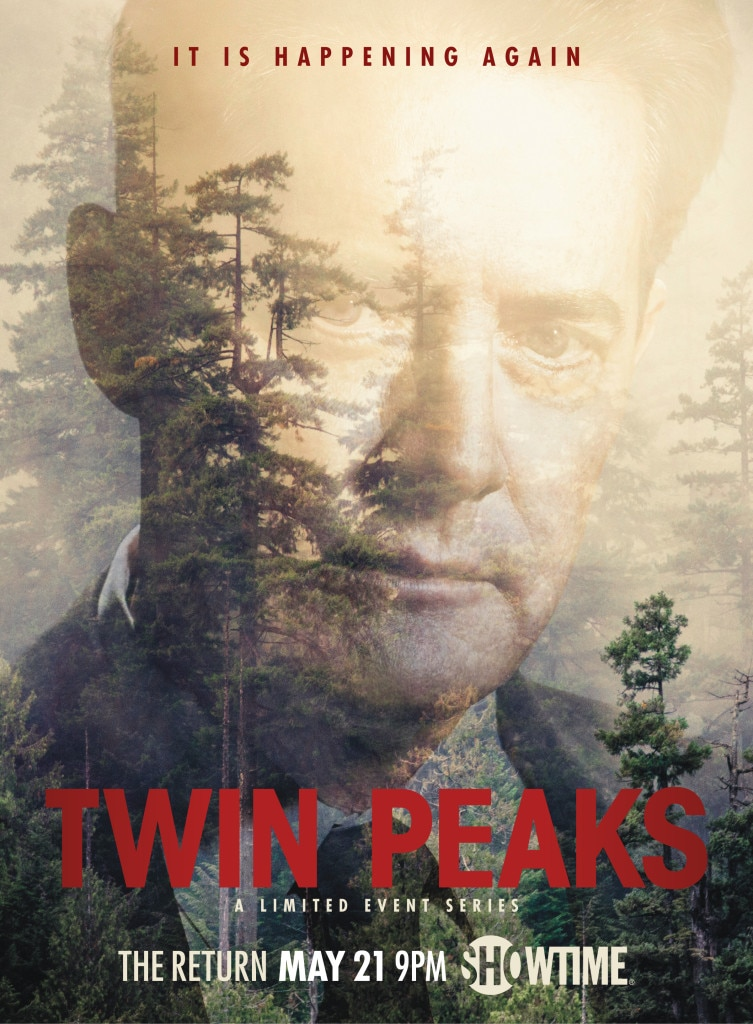 twinpeaksshowtimeposterdale - New Twin Peaks Promo Recalls The Darkness of Future Past