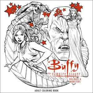 Buffy Big Bads and Monsters Coloring Book 300x300 - As We Celebrate Buffy the Vampire Slayer's 20th Anniversary, David Boreanaz Puts the Kibosh on a Reunion