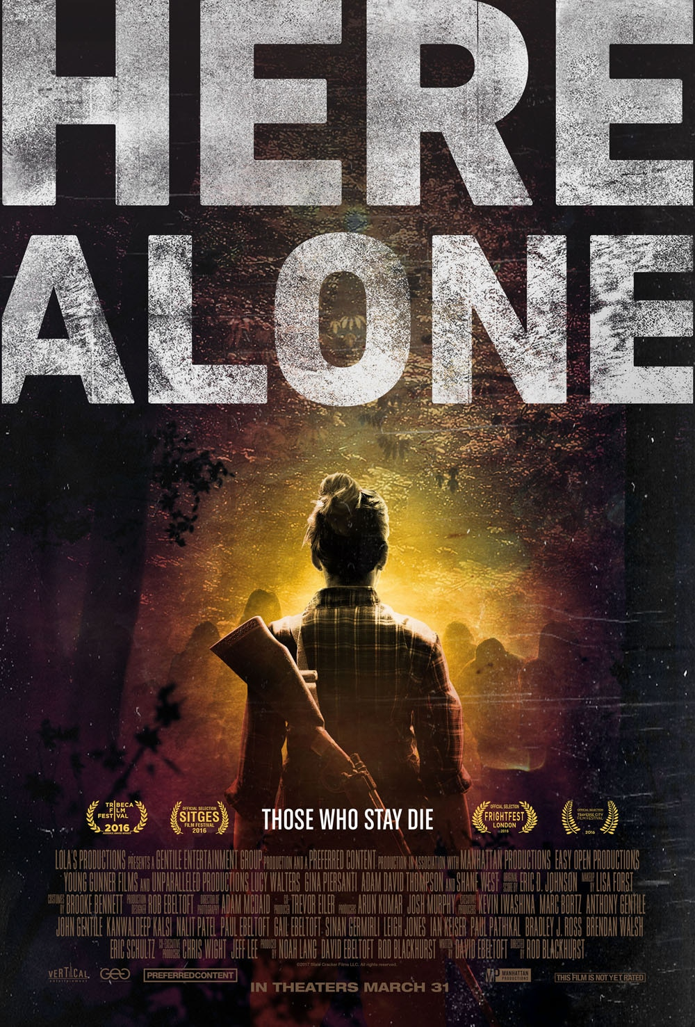 HERE ALONE official poster01 - Watch an Exclusive Clip Here Alone