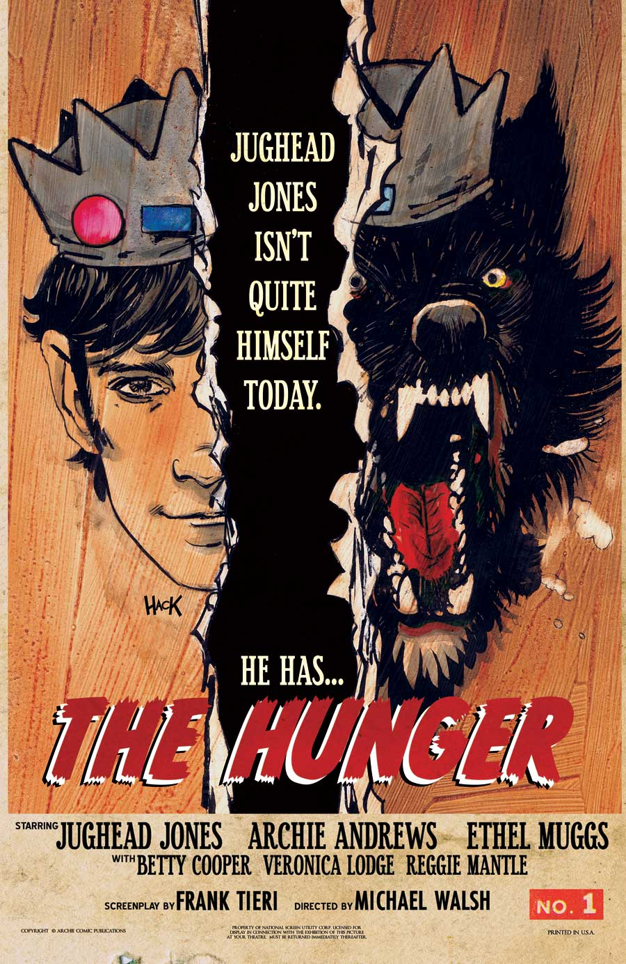 JughHungerOneShotHack - Jughead: The Hunger One Shot Comic Arriving in Late March