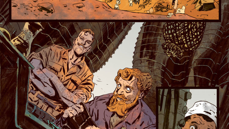 Penny Dreadful Issue 1 Page 2 750x422 - New Interior Art Revealed from Penny Dreadful: The Awaking Issue #1