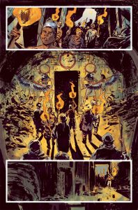 Penny Dreadful Issue 1 Page 3 198x300 - New Interior Art Revealed from Penny Dreadful: The Awaking Issue #1