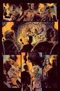 Penny Dreadful Issue 1 Page 5 198x300 - New Interior Art Revealed from Penny Dreadful: The Awaking Issue #1