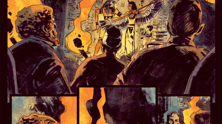 Penny Dreadful Issue 1 Page 5 750x422 - New Interior Art Revealed from Penny Dreadful: The Awaking Issue #1