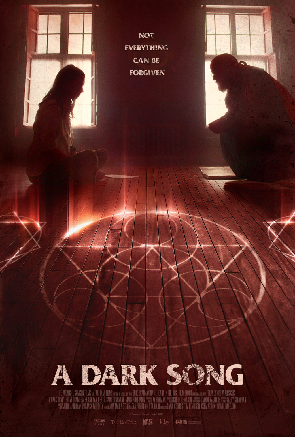 adarksongposter 1024x1516 - New US Poster and Trailer for A Dark Song Proves There Are Limits to Everything