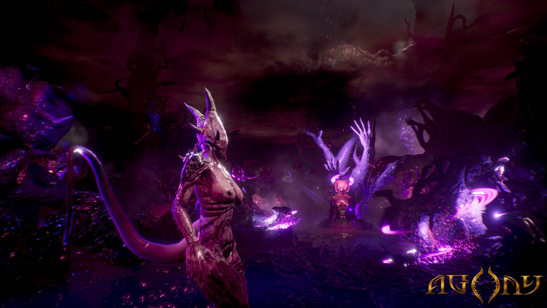 agony hell game9 1 - New Agony Trailers Deliver The Pain