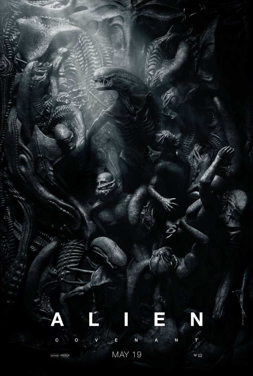 aliencovenantposter2 - New Alien: Covenant Images Are Dark and Sexy