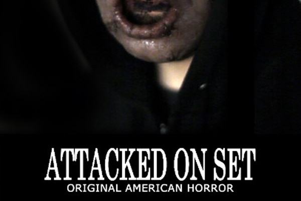 attackedonset poster s - Horror Comedy Attacked on Set Ready to Be Experienced on Blu-ray/DVD