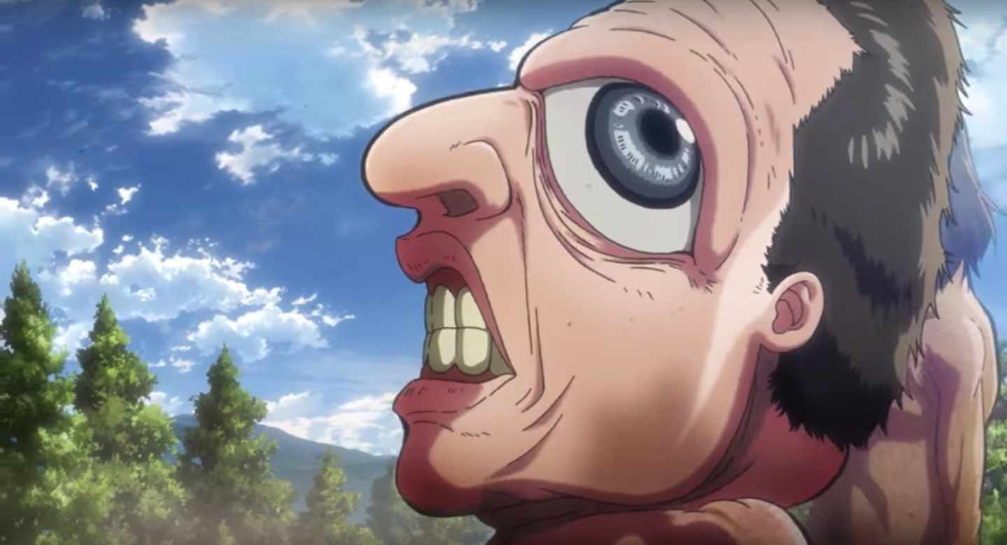 attackontitanseason2banner - Attack on Titan Season 2 Features Bigfoot and One Seriously Goofy Looking Titan