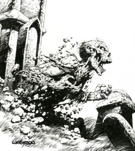 berniewrightson2 268x300 - RIP: Bernie Wrightson - Renowned Horror Artist Passes Away at 68