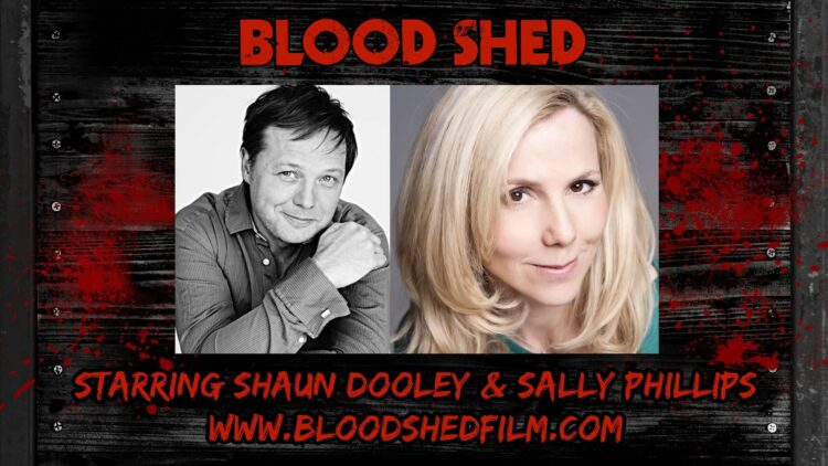 blood shed 1 750x422 - Doctor Who Writer James Moran Enters the Blood Shed; Sally Phillips and Shaun Dooley to Star