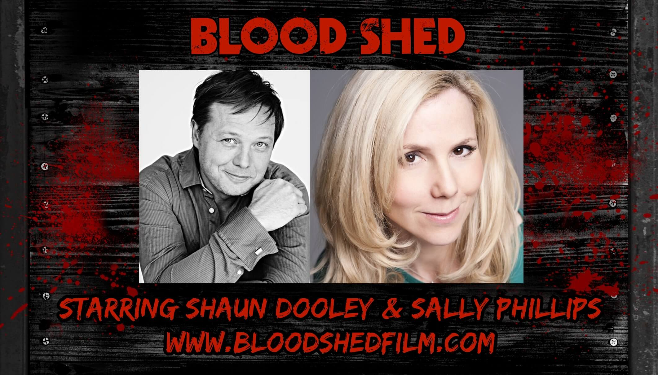 blood shed 1 - Doctor Who Writer James Moran Enters the Blood Shed; Sally Phillips and Shaun Dooley to Star