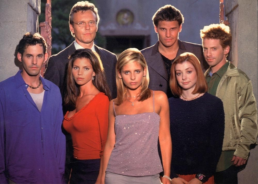 buffycastphoto - Fox Announces New Buffy the Vampire Slayer Box Set That Offers Nothing New