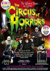 circus of horrors 211x300 - Circus of Horrors, The (Play)