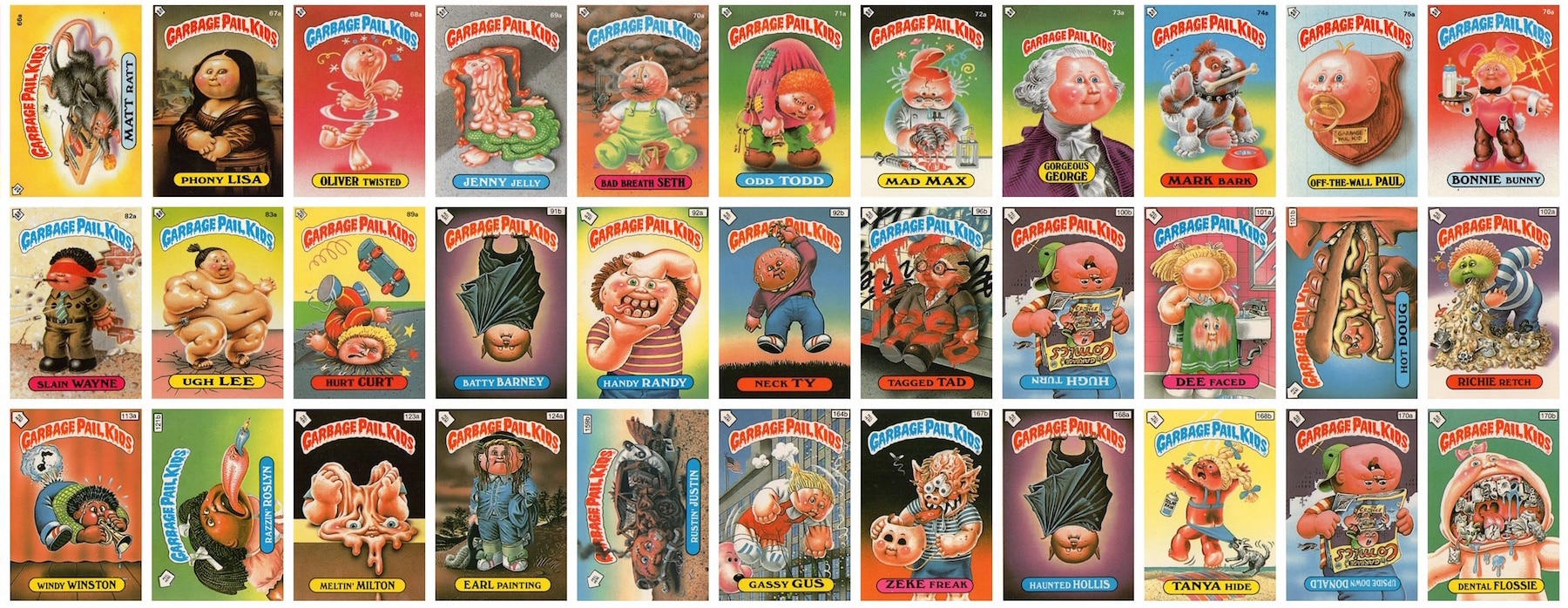 garbagepailkidsbanner - Rest in Peace: Garbage Pail Kids Artist Jay Lynch