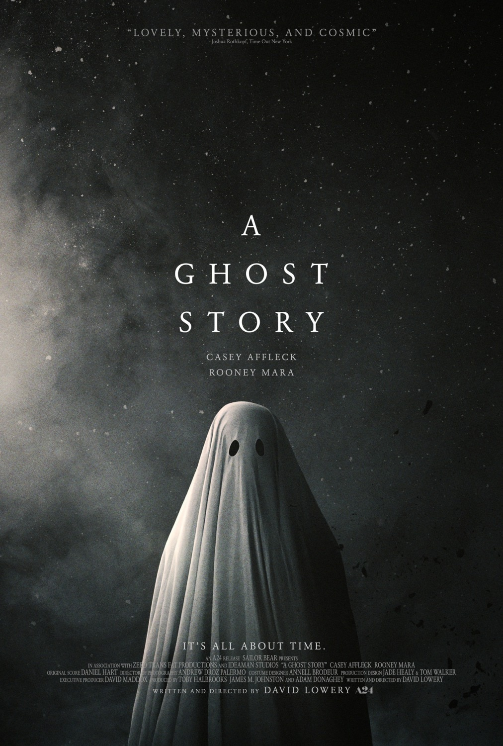 ghost story poster - A Ghost Story Poster Says BOO!