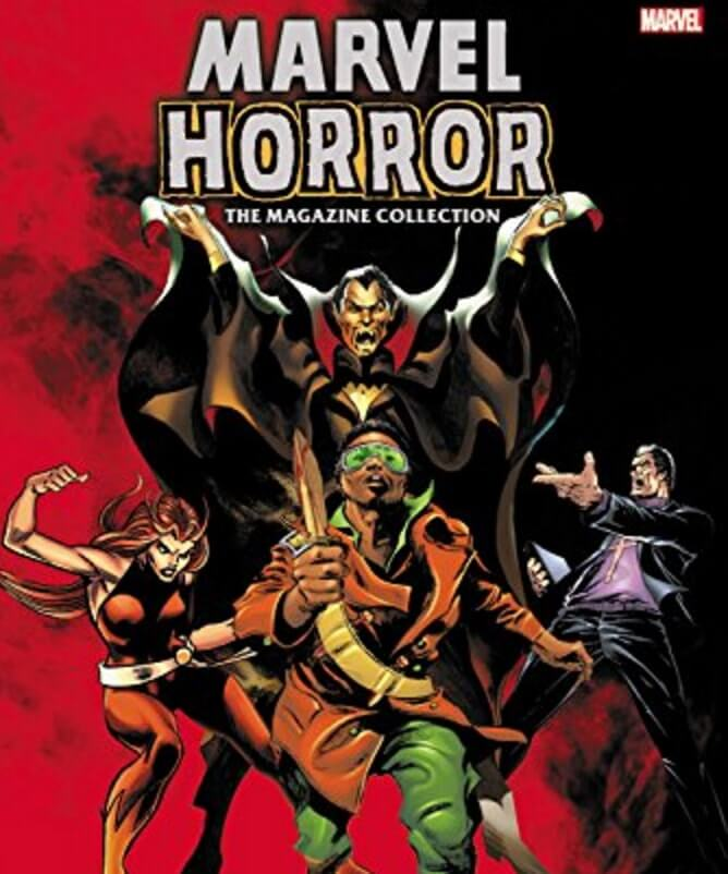 marvel horror magazine collection 1 - Have a Super Halloween with Marvel Horror: The Magazine Collection